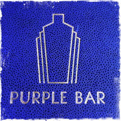PURPLE BAR A L'HOTEL DU COLLECTIONNEUR