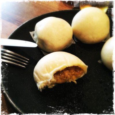 Bao comté oignons curry Yam'Tcha