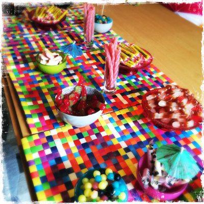 Buffet de bonbons végétariens