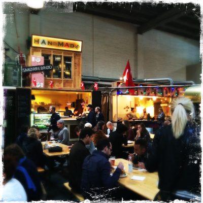 Street Food Market de Copenhague