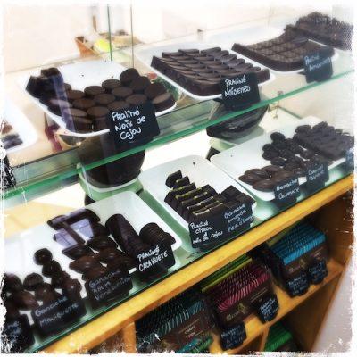 Les chocolats véganes Ara
