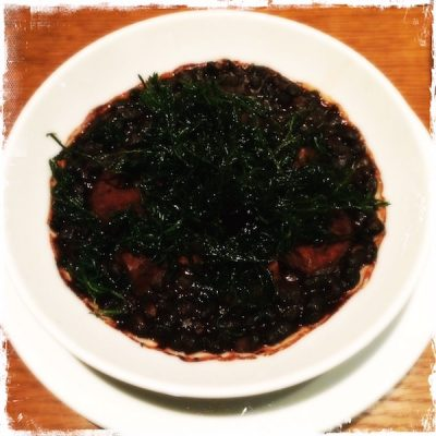 Feijoada vegan restaurant Niébé