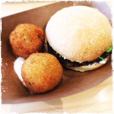 Burger vegan Season Square