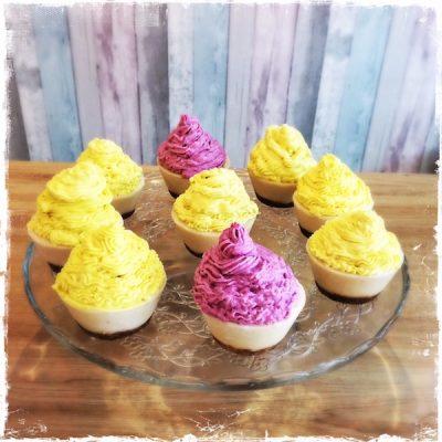 Cupcakes véganes Raw Cakes Paris