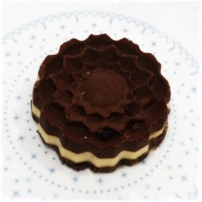 Cupcake Choco Crunchy végane Raw Cakes Paris
