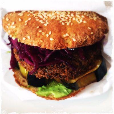 Fallafel burger végane Noglu