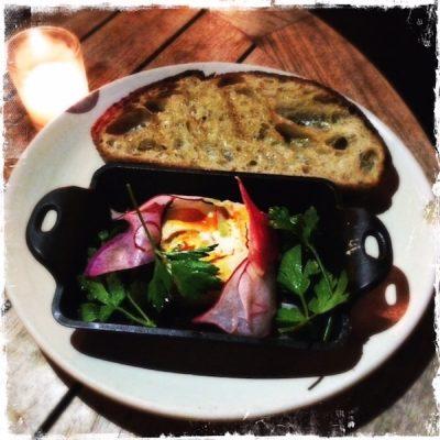 Cashew raclette végane chez Plant Food+Wine