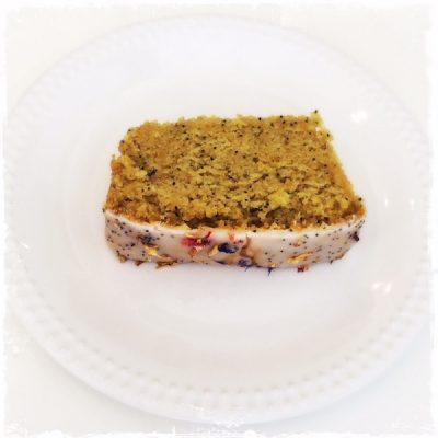 Cake citron-pavot végane Comptoir Veggie
