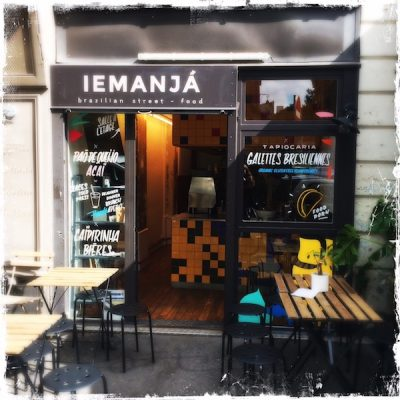 Iemanja brazilian street-food Paris