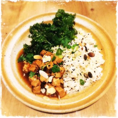 Tofu au caramel Savvy
