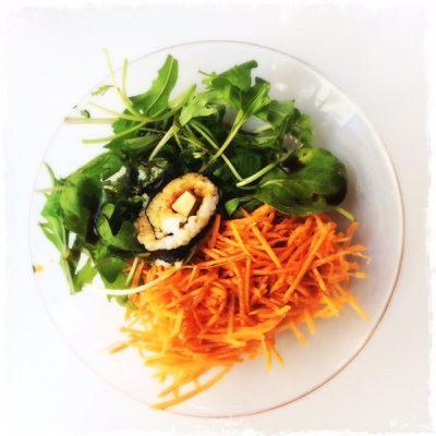 Salade végane Le Myrha