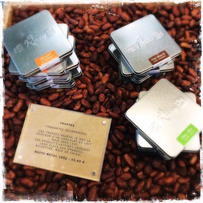 Truffes véganes la Rrraw Cacao Factory