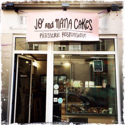Jo and Nana Cakes, pâtisserie végane