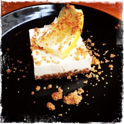 Cheesecake cru et végane chez Primeur