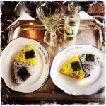 Les onigiris véganes ratatouille et shiso, Nanikoré