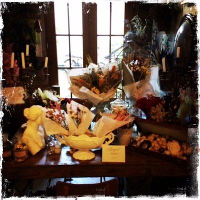 Officine Buly, fleurs séchées