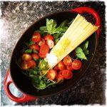 "Pâtes tout-en-un ""A modern way to cook"""