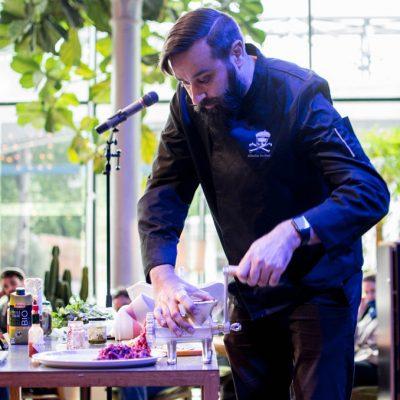 Démo culinaire Sébastien Kardinal