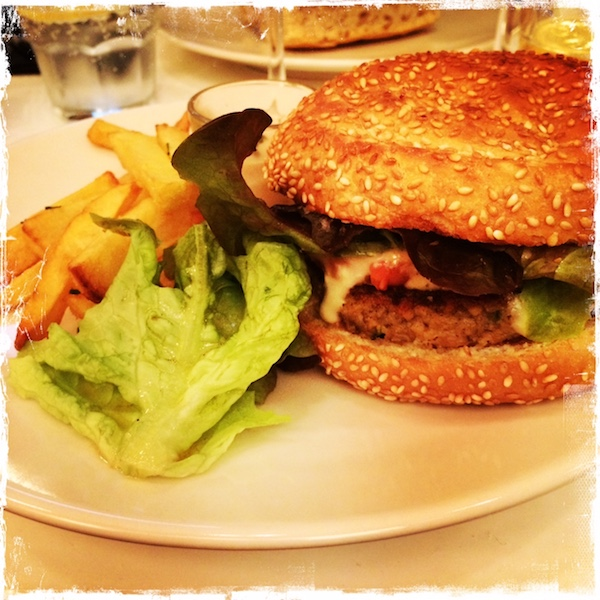 Burger Breathe restaurant végane