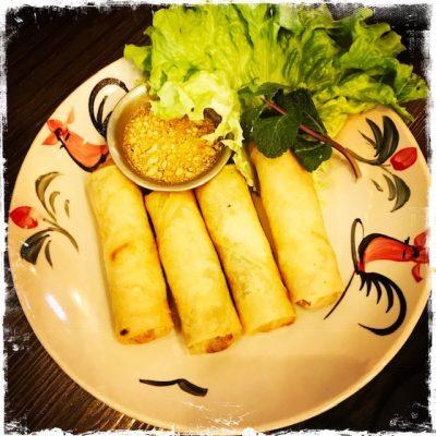 Nems aux légumes-Yaai Thaï
