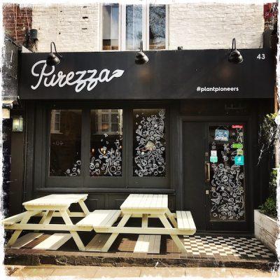 Pizzeria végane Purezza Londres