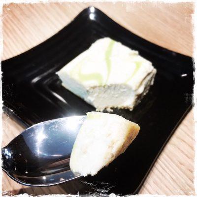 Gâteau noix de cajou-citron vert végane Copper Branch Boulogne
