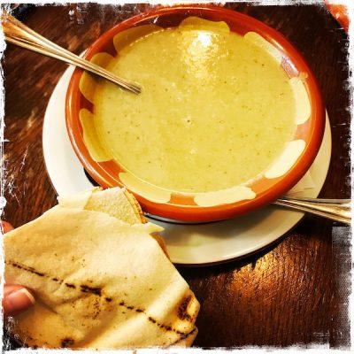 Soupe de lentilles végane au Daily Syrien Veggie