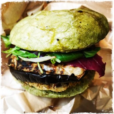 Burger minceur vegan Jak Healthy Paris
