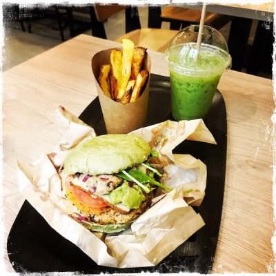 Menu sportif vegan Jak Healthy Paris