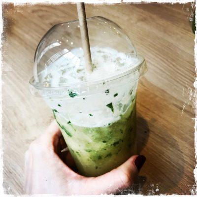 Boisson thé-ananas-menthe Jak Healthy Paris