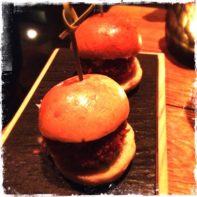 Mini burgers quinoa