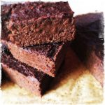BROWNIES VEGAN AUX PATATES DOUCES