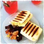 Sandwich vegan mac&cheese Oatmeal