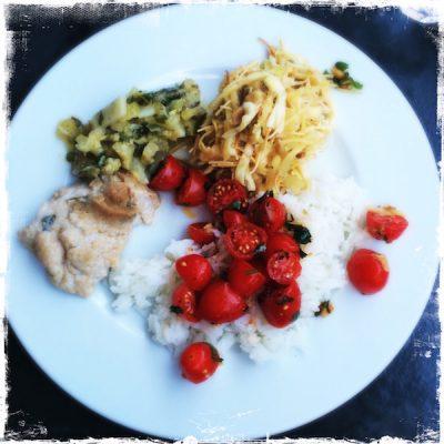 Trio végétarien Miss Lunch