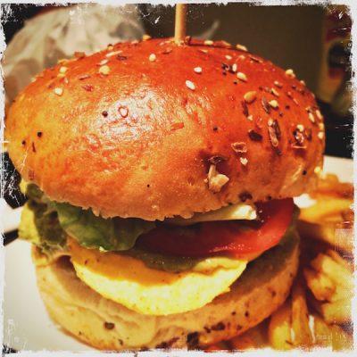 "Burger vegan ""Mille feuilles guacamole"" VG"
