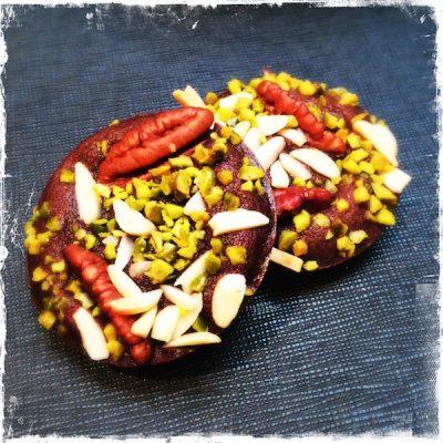Brownies au cacao cru vegan du Tea Time du Shangdi-La