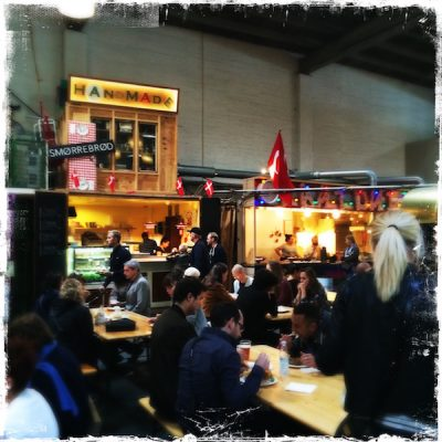 Street Food Market de Copenhague
