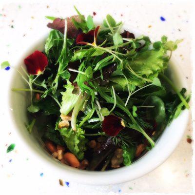 Salade végane du jour Noglu