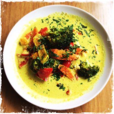 Curry de légumes végane Judy