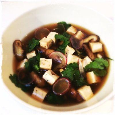 Bouillon végane au tofu Blossom