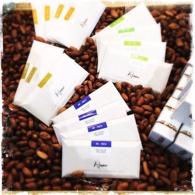 Tablettes la Rrraw Cacao Factory