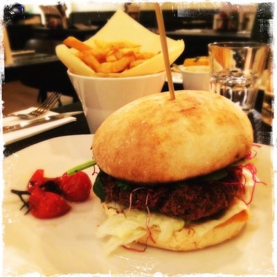 Burger végane Ellis Gourmet Burger