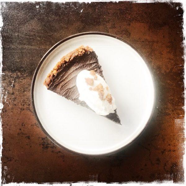 Tarte au chocolat végane express!