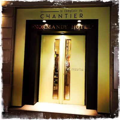 Oh Faon à l'hôtel Le Normandy
