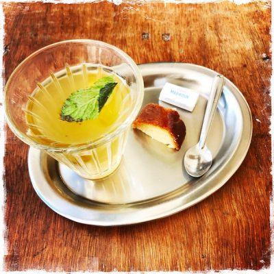 Thé à la menthe chez Mabrouk Paris