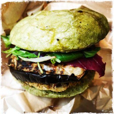 Burger minceur vegan Jak Healthy Paris
